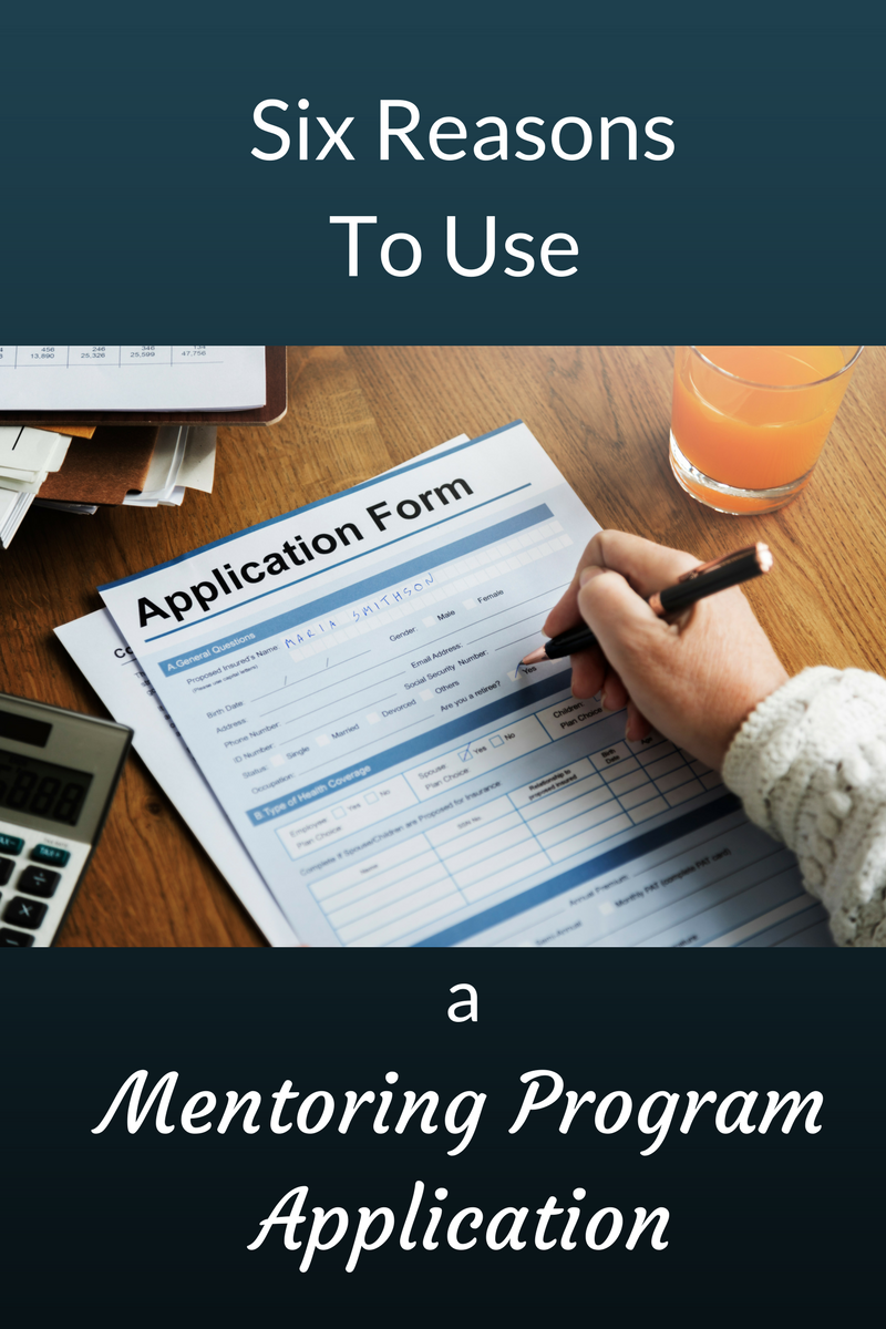 mentoring program application